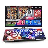 CHONGSUNG TV Set-top Arcade Video Game Console 1760 Classic Arcade Games in 1 Built-in 23 Languages New-Added Bluetooth and WiFi Functions 2 Players Arcade Joystick Home Video Retro Games Machine