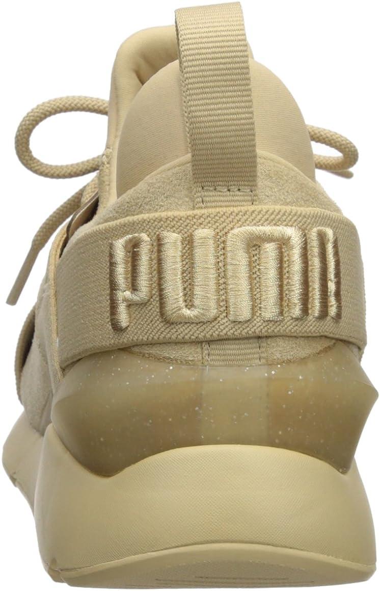 Puma Chaussures Surélevées pour Femmes Muse:
