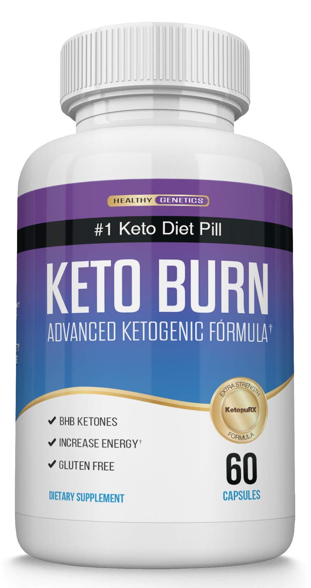 Keto Diet Pills for Keto Diet - Best Keto Pills Keto Supplement with Exogenous Ketones - Ketogenic Diet Supplement for Energy, Focus and Endurance by Healthy Genetics