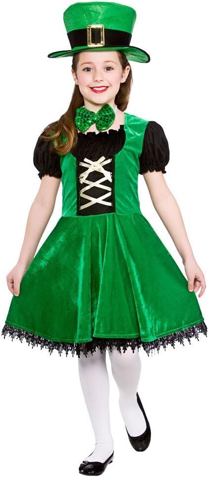 Disfraz de chica de lujo Leprechaun para el día de San Patricio ...