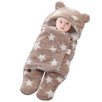 Baby Schlafsack Gefüttert Pucksack Neugeborene zu jeder Jahreszeit verwendbar