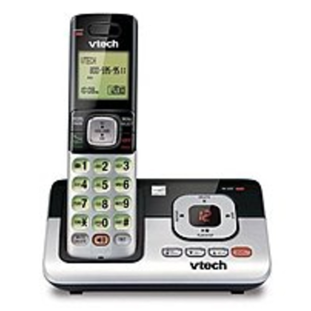 VTech CS6829 Expandable Cordless Answering System with Caller ID - DECT 6.0 - Backlit Display