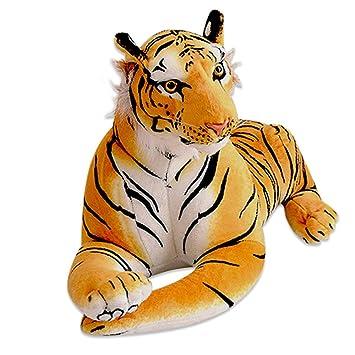 Amazon Com 60cm Tiger Plush Animal Realistic Big Cat Orange Bengal