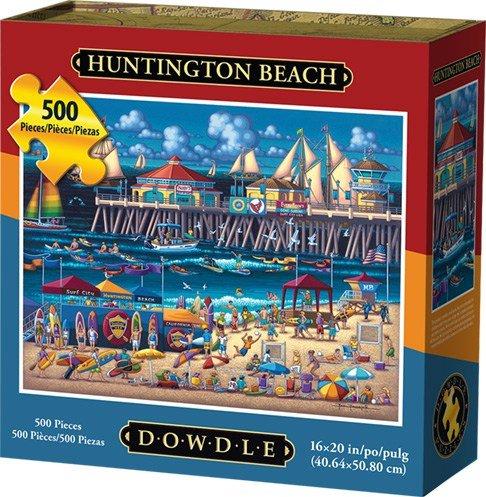 Dowdle Folk Art Huntington Beach Jigsaw Puzzle