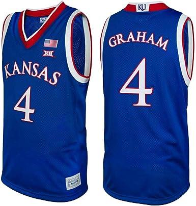 Devonte' Graham #4 Retro Brand Authentic Basketball Blue Jersey