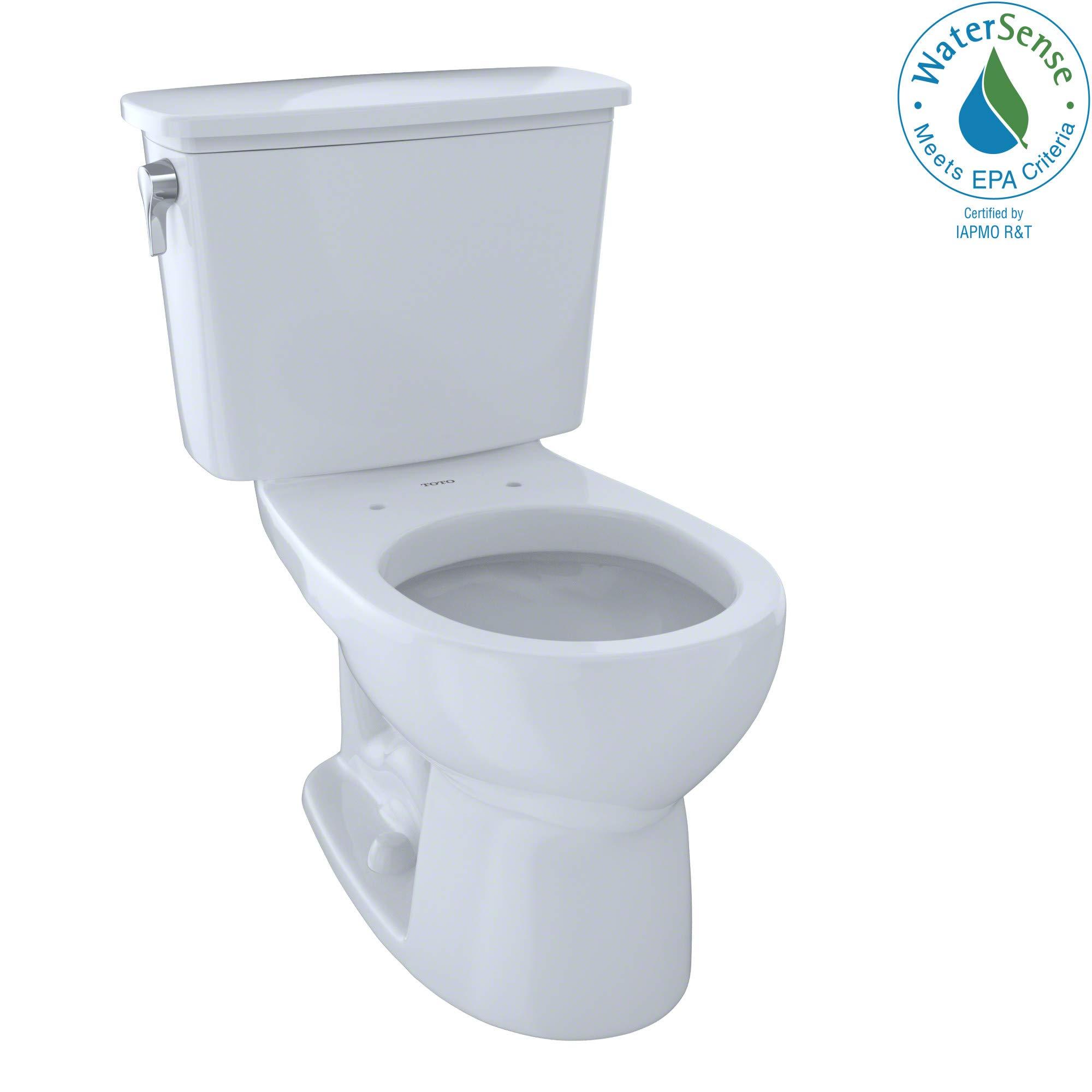Drake Round Toilet 2 Piece by TOTO