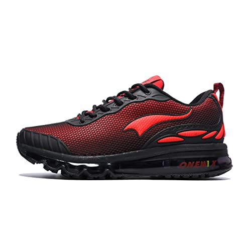 Onemix Air Cushion Running Shoes Men's Trainers Mesh Breathable Sneakers  Lightweight Flexible Outdoor Sport Shoes
