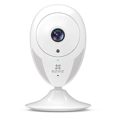 EZVIZ Indoor Security Camera 1080p FHD Motion Alert Night Vision  Baby/Pet/Elder Monitoring 135° Wide Angle 2 4G Wi-Fi 2-Way Audio Smart Home  IPC Works