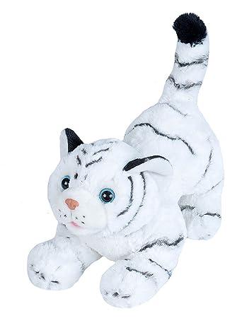 Amazon Com Wild Republic White Tiger Plush Stuffed Animal Plush