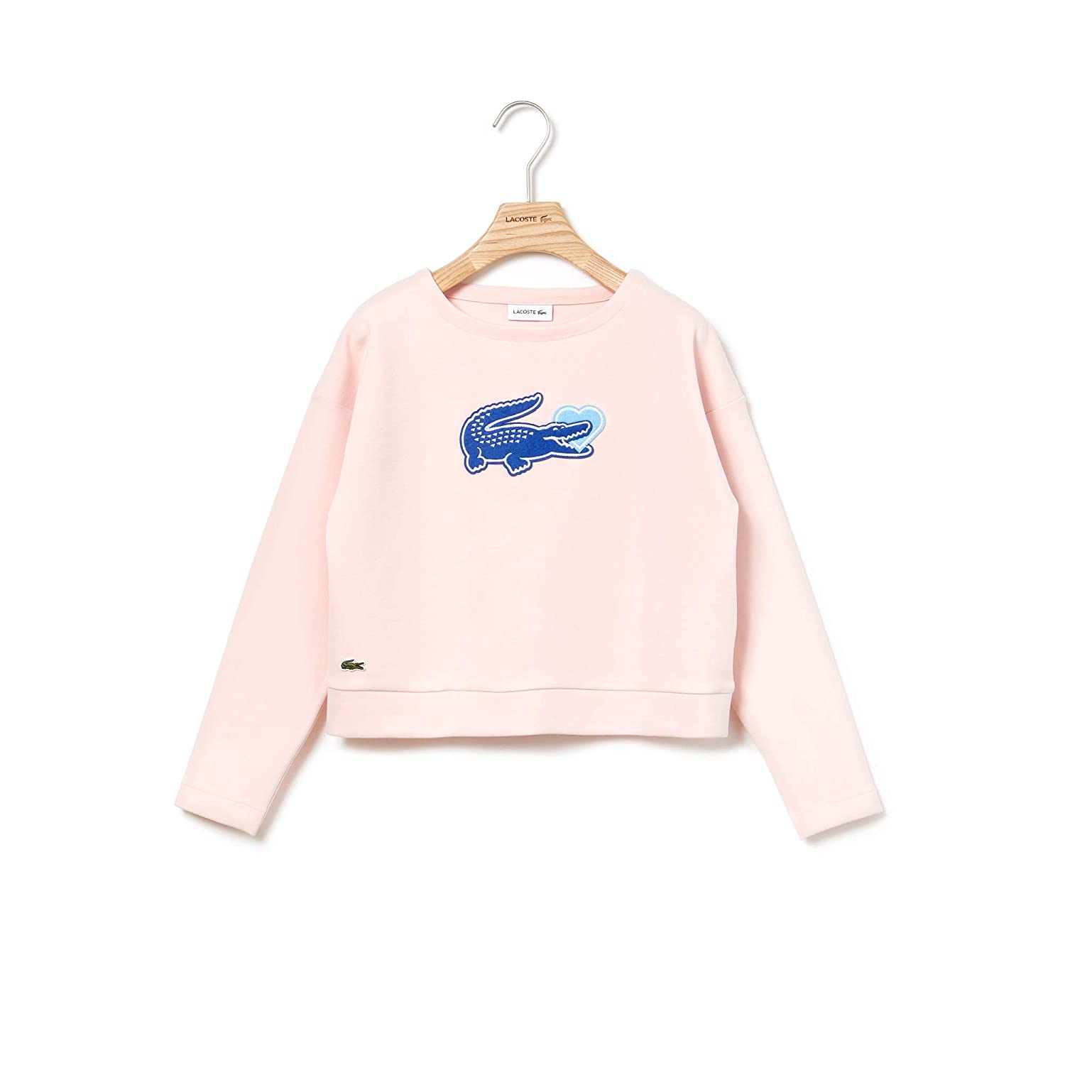 Sweat Shirt Pale 10 Enfant Lacoste Rose Sj4206 Ans WH2IYeED9