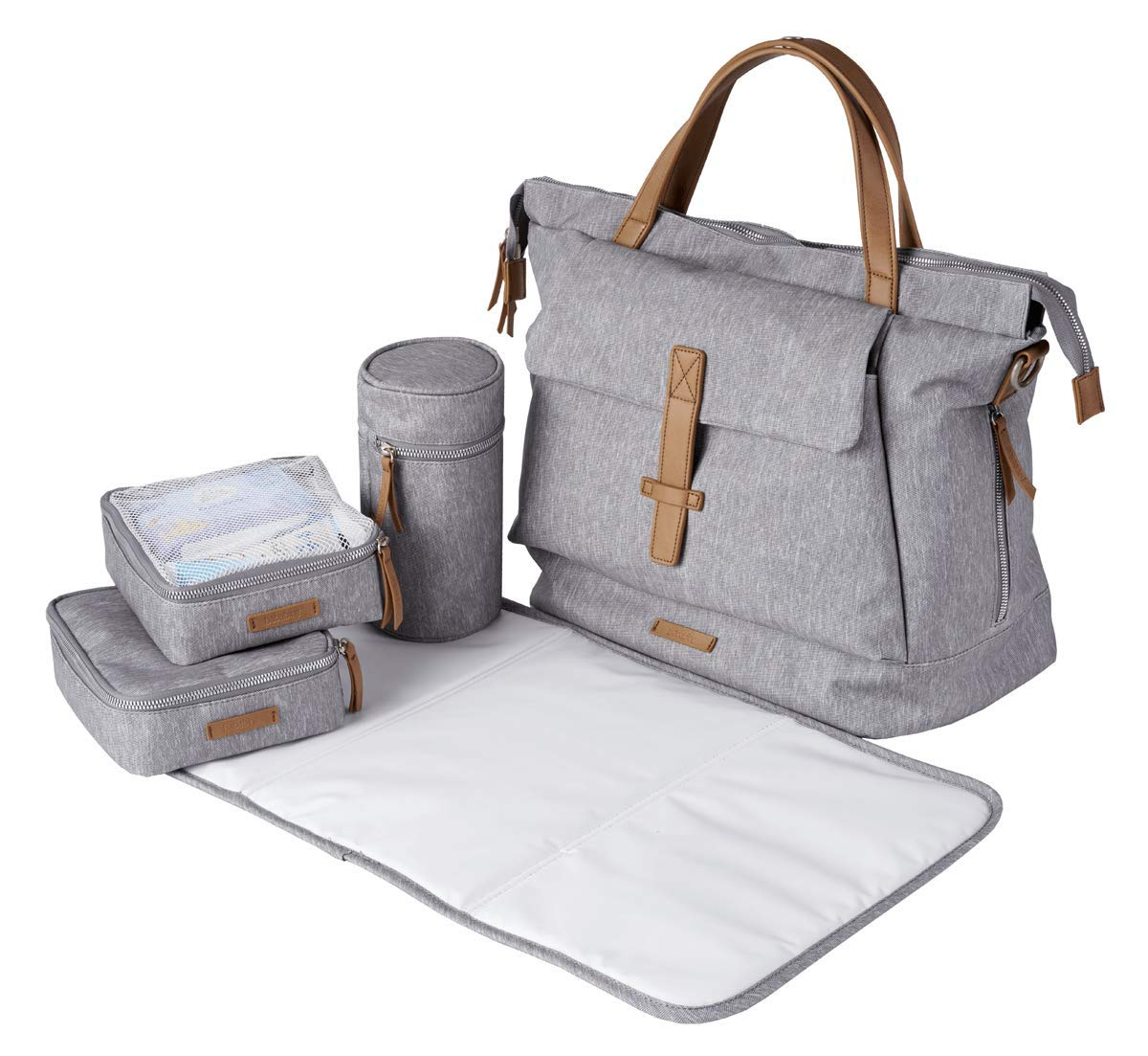 BabaBing Erin Changing Bag - Grey