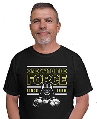 72473d1b0 One With The Force 50th Birthday T Shirt 1969 Party Outfit Gift For 50 Year