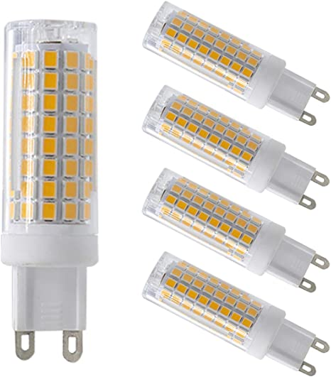 3W LED G9 SMALL LOW ENERGY CAPSULE LIGHT BULB WITH AVERAGE LIFE 30,000 HOURS!