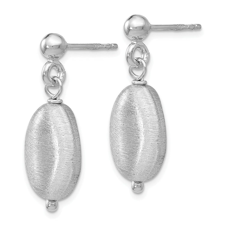 Leslie's Sterling Silver Post Dangle Earrings QLE1218