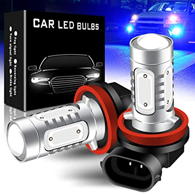 yifengshun 2pcs SUPER Bright Blue H11/H8 LED Bulbs for Fog Lights 7.5W COB Fog Lamp Driving DRL Lights 12V: Automotive