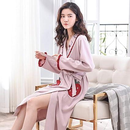 design senza tempo edfca 5c555 Bathrobe Accappatoio Lungo Sexy Camicia da Notte Femminile ...