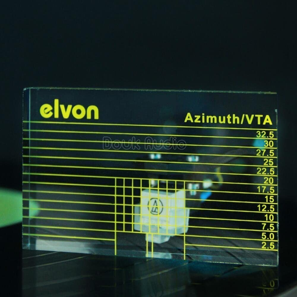 nobsound LP Vinilo Tone pulsera Vta Cartridge Alineación de ...