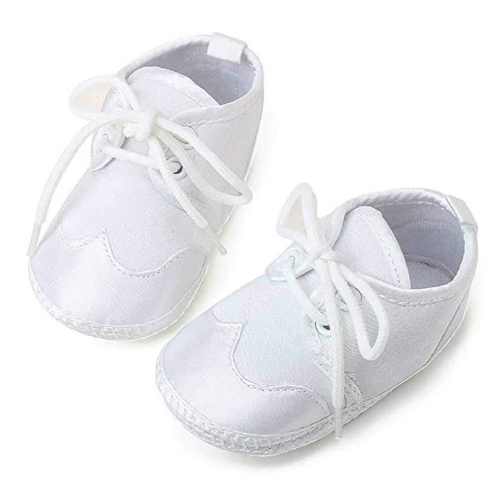 OOSAKU B/éb/é Gar/çons Filles Chaussures Lacets Stain Bapt/ême Chaussures Premi/ère Marche Sneakers