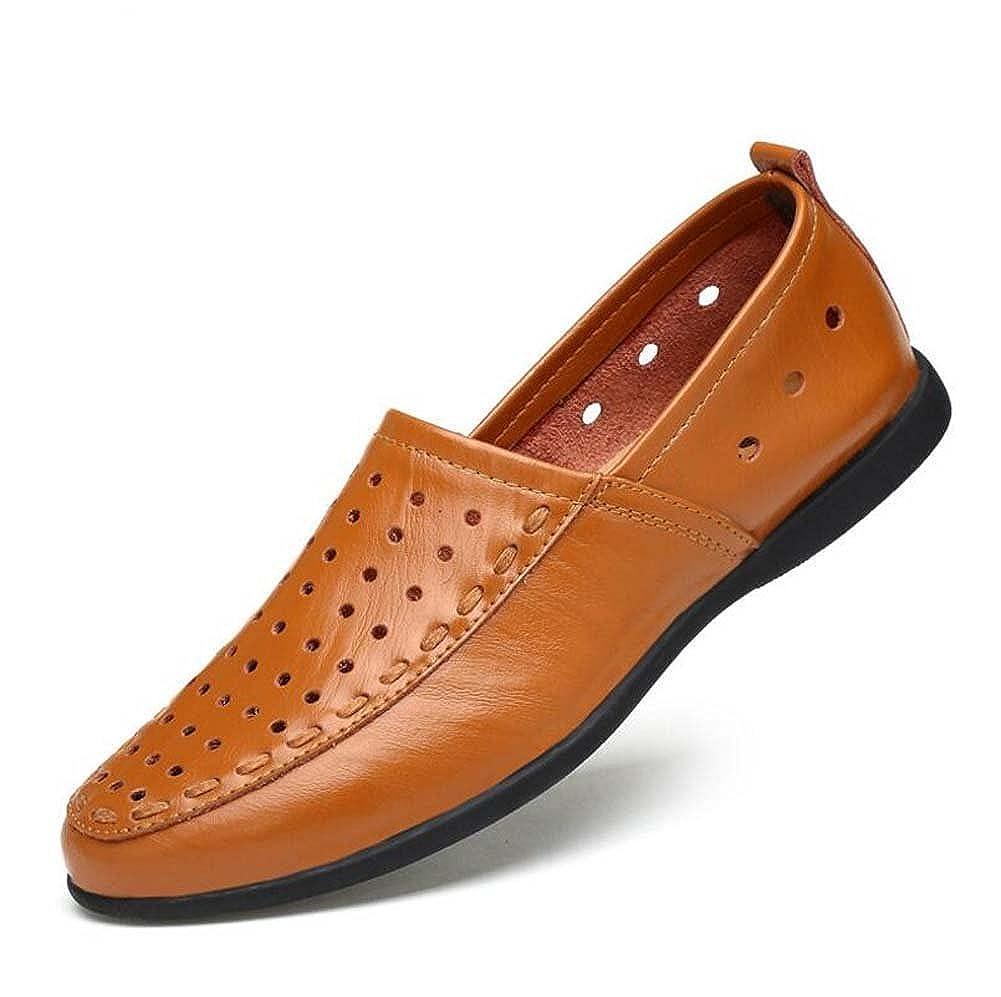 Zapatos de Guisantes de los los los Hombres Zapatos Pies Soft Bottom Handmade Zapatos Breathable Zapatos Verano Large Talla 3e7c83