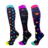Compression Socks Women & Men 20-30 mmHg
