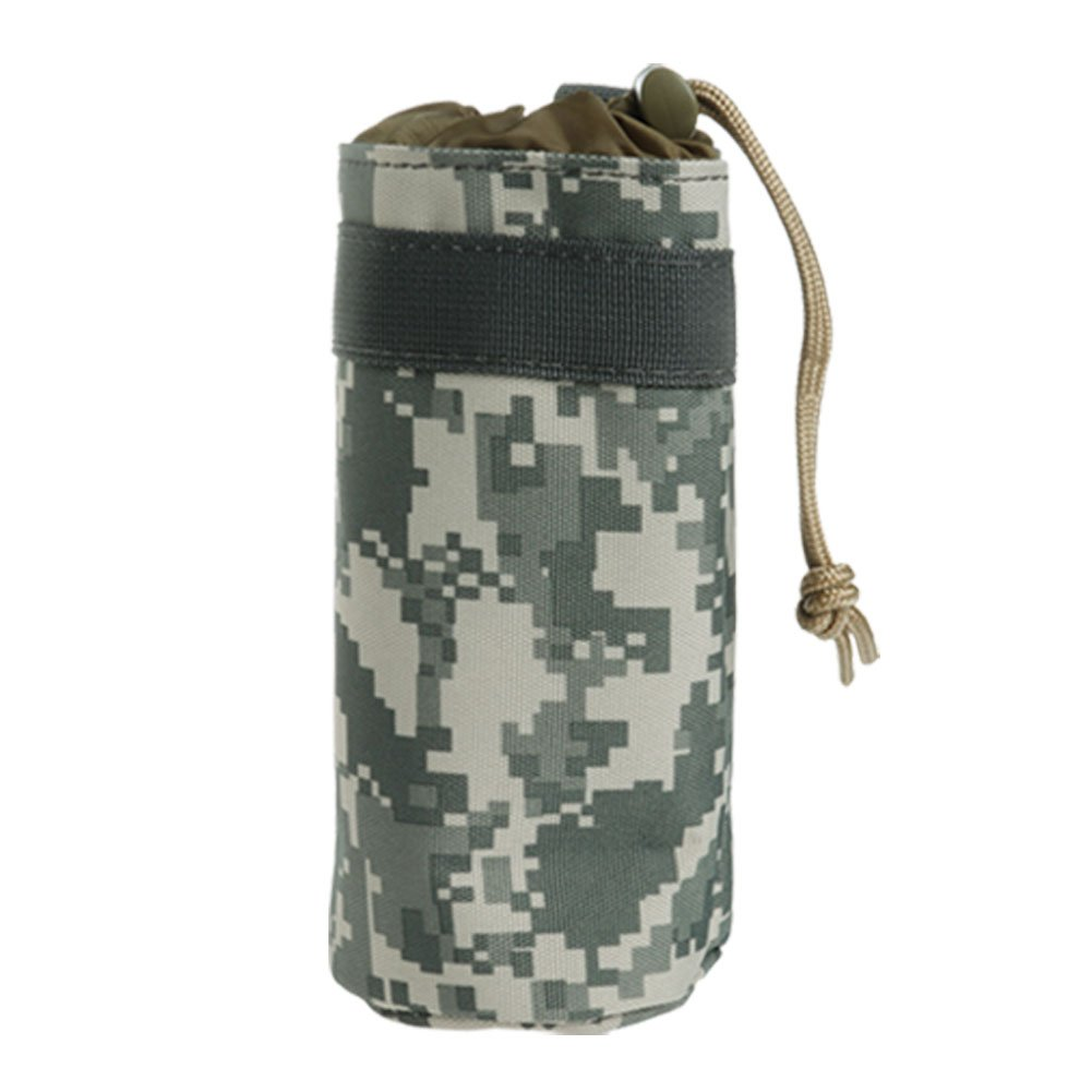 zadaroアウトドアミリタリータクティカル水ボトルバッグケトルポーチホルダー水Carry Bag for Hunting Hinking旅行 B01M0HRGV9 ACU