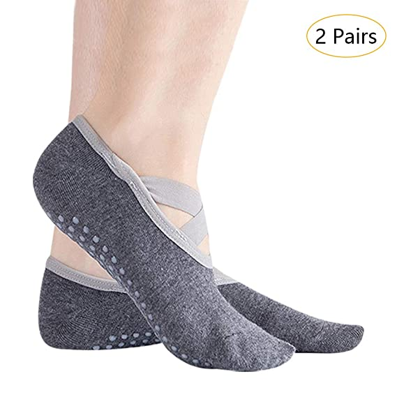 SONSYON Calcetines de Yoga Pilates - Barra Ballet Silicona ...
