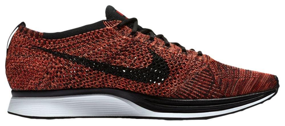 [ナイキ] Nike Flyknit Racer - メンズ ランニング [並行輸入品] B071LQC7CR US11.5 University Red/Black/Bright Mango