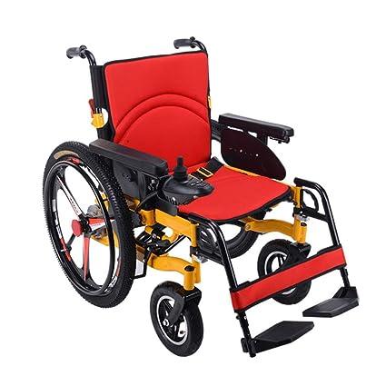 Amazon.com: Silla de ruedas de aluminio, 24 pulgadas ...
