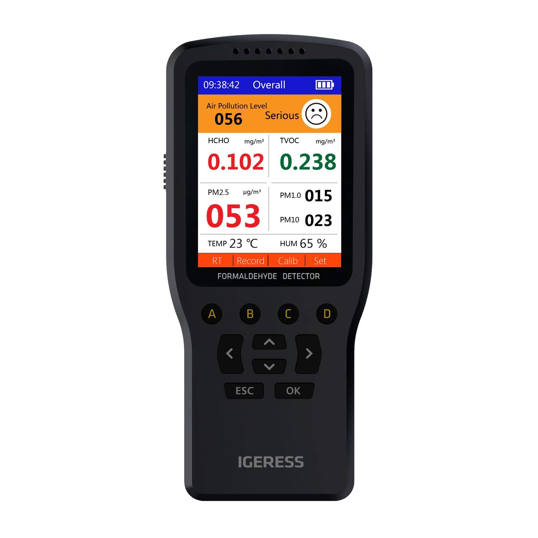 Monitor de calidad del aire, IGERESS medidor detector de ...