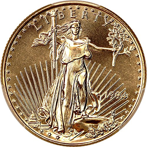 1994 P $25 Gold Eagles Gold Eagle Twenty Five Dollar MS70 PCGS