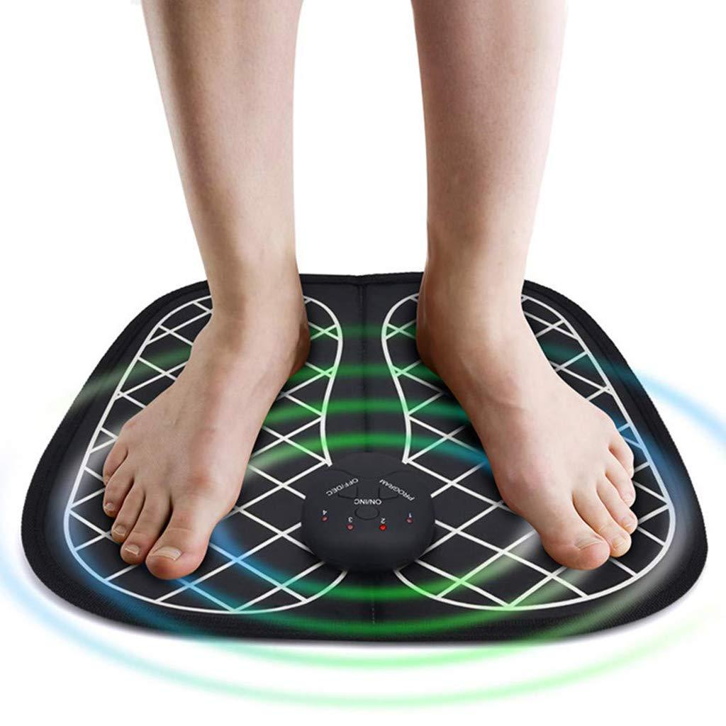 Amazon.com: JSYCD - Esterilla eléctrica de masaje de pies ...