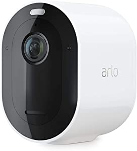 Arlo Pro 3 – Wire-Free Security Add-On Camera | 2K with HDR, Indoor/Outdoor, Color Night Vision, Spotlight | Requires an Arlo Smarthub or Base Station, Sold Separately | Works with Alexa | (VMC4040P)