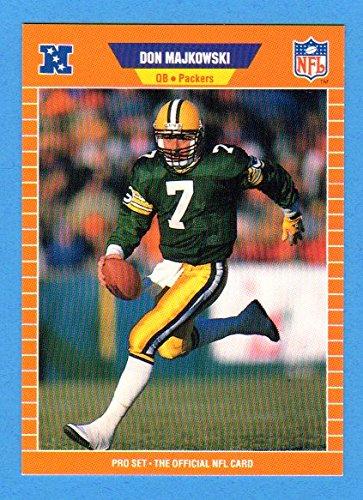 Don Majkowski 1989 Pro Set Football Rookie Card - Best 1999 Team Card Rookie