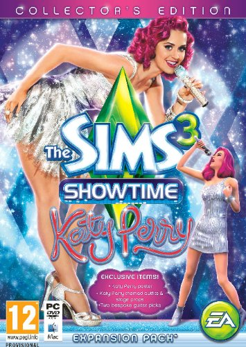 Uk Import The Sims 3 Showtime Katy Perry Collectors Edition Game Pc Mac Games