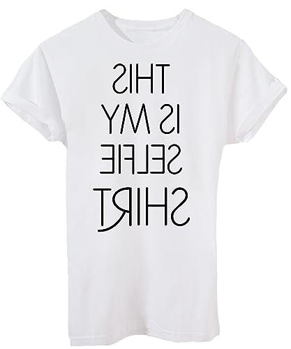 T-Shirt QUESTA È LA MIA T-SHIRT SELFIE - DIVERTENTE - by iMage