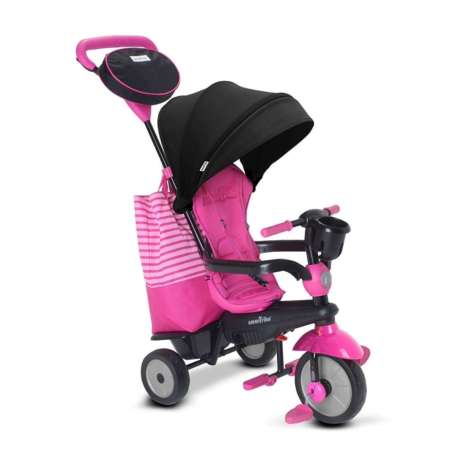 smarTrike Swing DLX Baby Tricycle, Pink