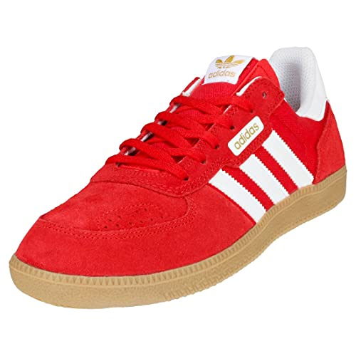 adidas Leonero Mens Trainers Red White - 7 UK