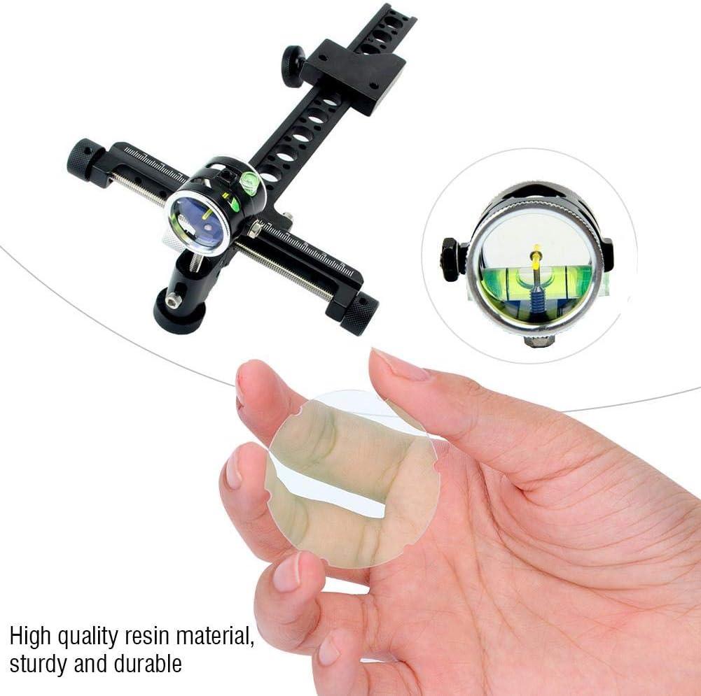 Power Lens Scope Sight 2x 4x 6x 8x Compound Bow Clarifiers Magnify Archery Shoot