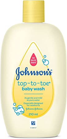 Johnson's Baby Top To Toe Wash (200ml) Body Washes (Baby Products) at amazon