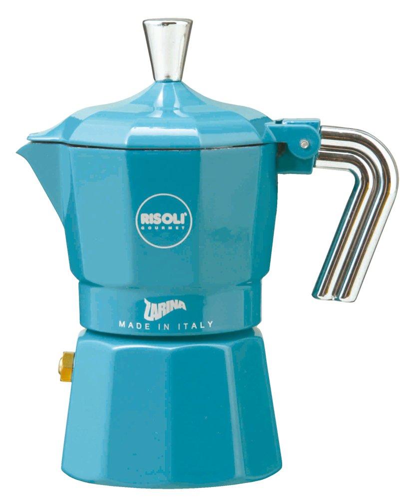 ZARINA (Zarina) espresso maker 3cup for Blue RZ-3BS (japan import)