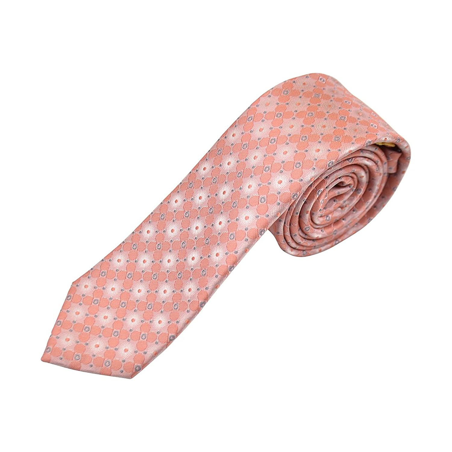 hot Floral Satin Youth Tie free shipping
