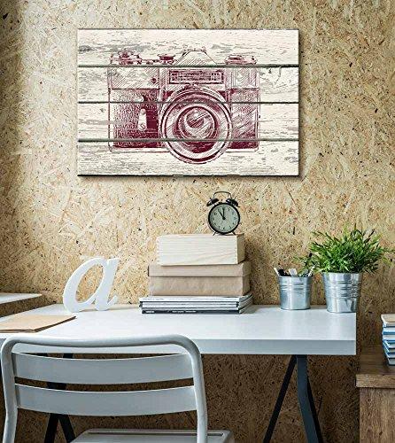 Point and Click Camera Print Artwork Rustic