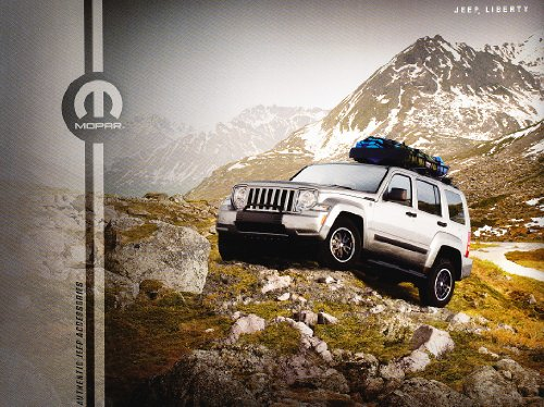 2011 2012 Jeep Liberty Accessories Original Dealer Sales Brochure Catalog