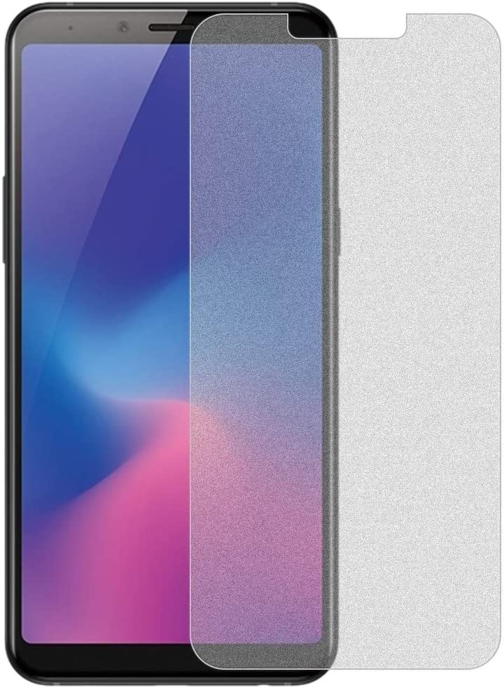 No Retail Package Glass Film DESHENG Clear Screen Protector 50 PCS Non-Full Matte Frosted Tempered Glass Film for Galaxy A6s