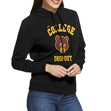 Amazon Com Edithl Women S Kanye West The College Dropout Hoodies