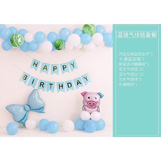 Globos para niños_Cumpleaños feliz Feliz cumpleaños Paquete ...