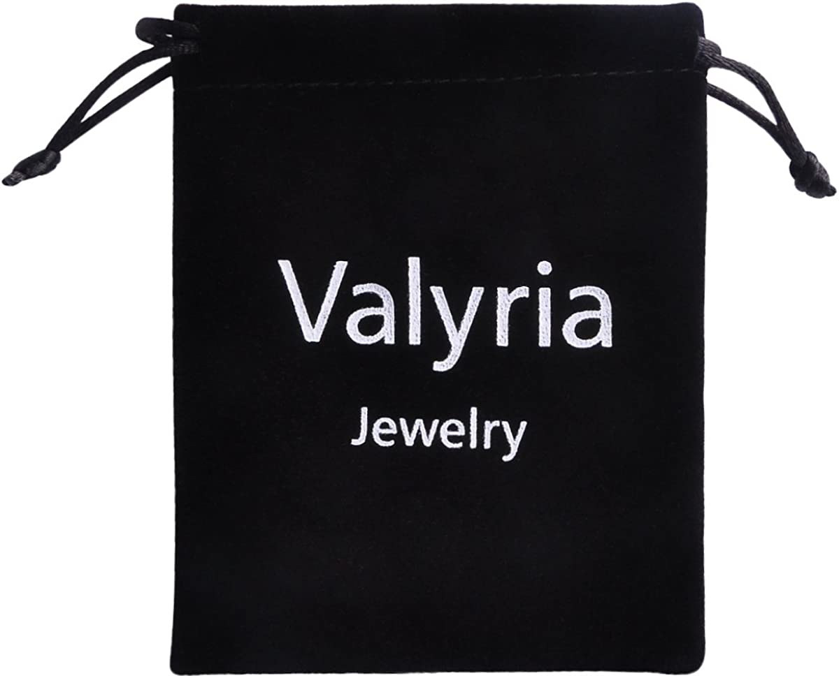Valyria Florida State Necklace FL State Shaped Necklace with A Heart
