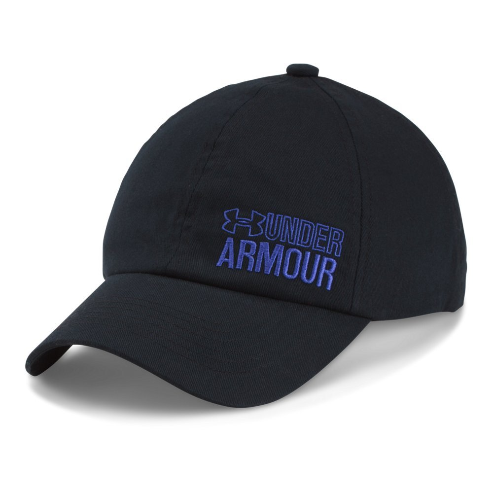 Under Armour Girls' Graphic Armour Cap, Black (001), One Size