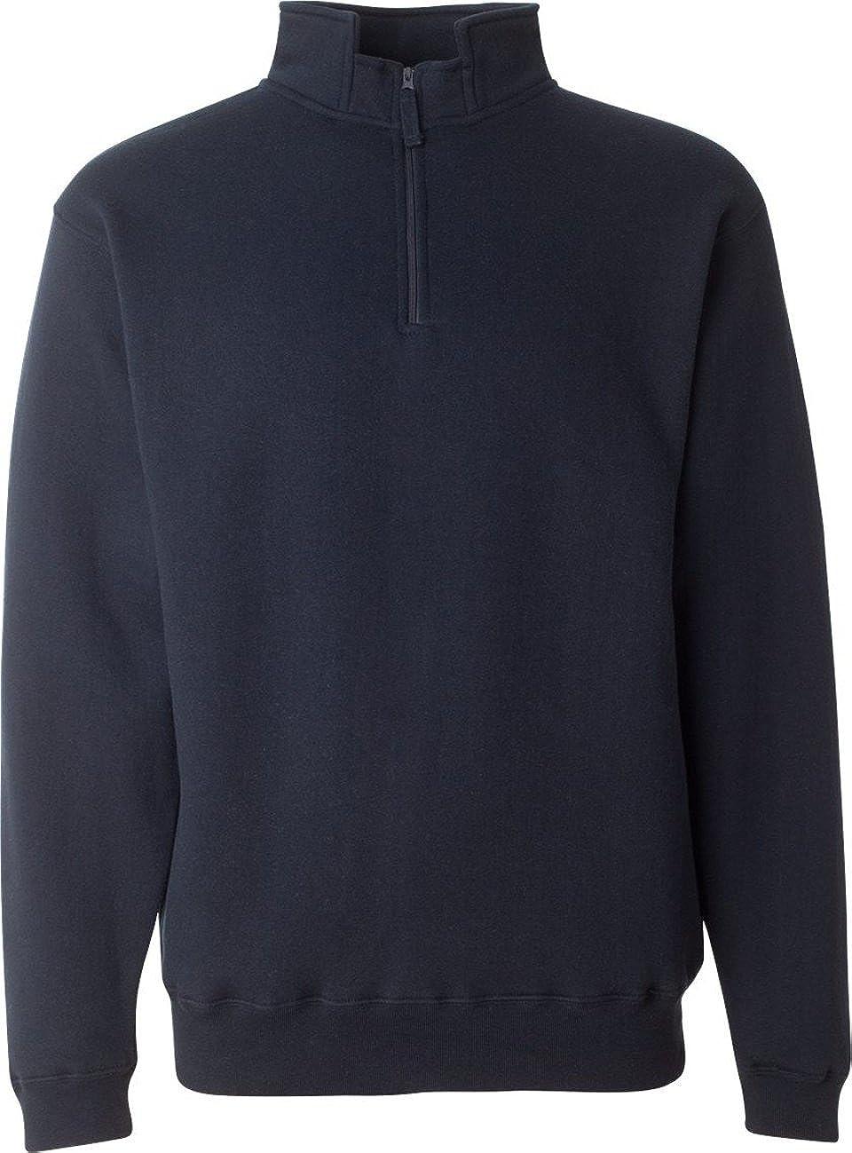 Adult Heavyweight Fleece Quarter-Zip NAVY 3XL
