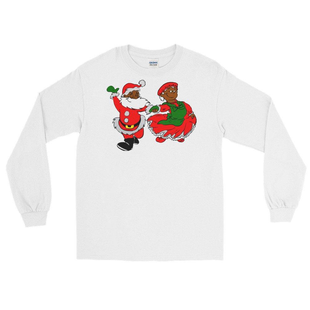 Gossip Rag black santa mrs claus Long Sleeve T-Shirt tee t top shirt